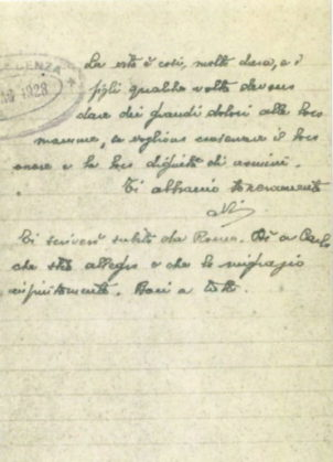 Lettera_alla_madre_10_maggio_1928