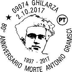 Timbro_Gramsci_Annullo_filatelico_2017